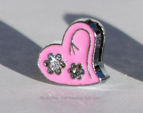 Heart N Flowers - Pink