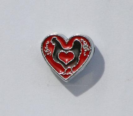 Love My Hen - Red