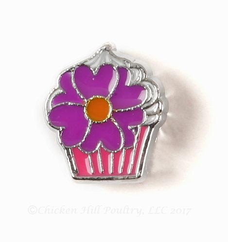 Heart Flower Cupcake