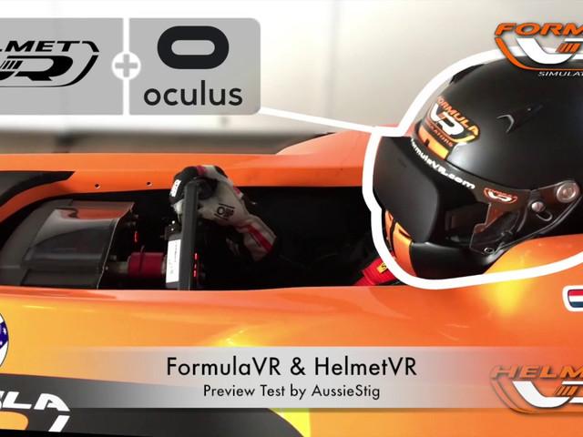 Modelling The Formula VR & Helmet VR