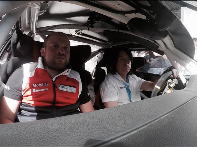 Driving A Full Size Porsche 911 GT3 Simulator