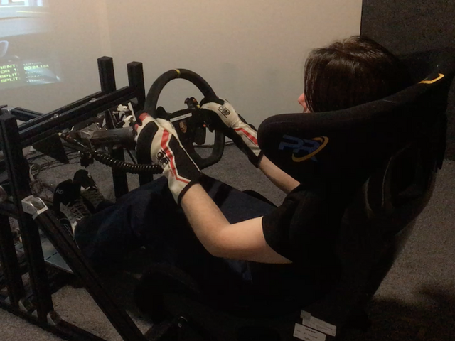 Evaluatiing Pro Racing Team Simulator