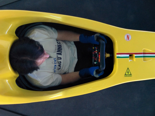 Testing Evotek's 028 Chassis Maranello, Italy