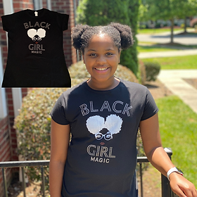 Black girl magic shirt of the month pic.