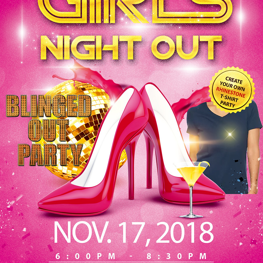 Nov Charlotte Blinged Out Party @ Hickory Tavern