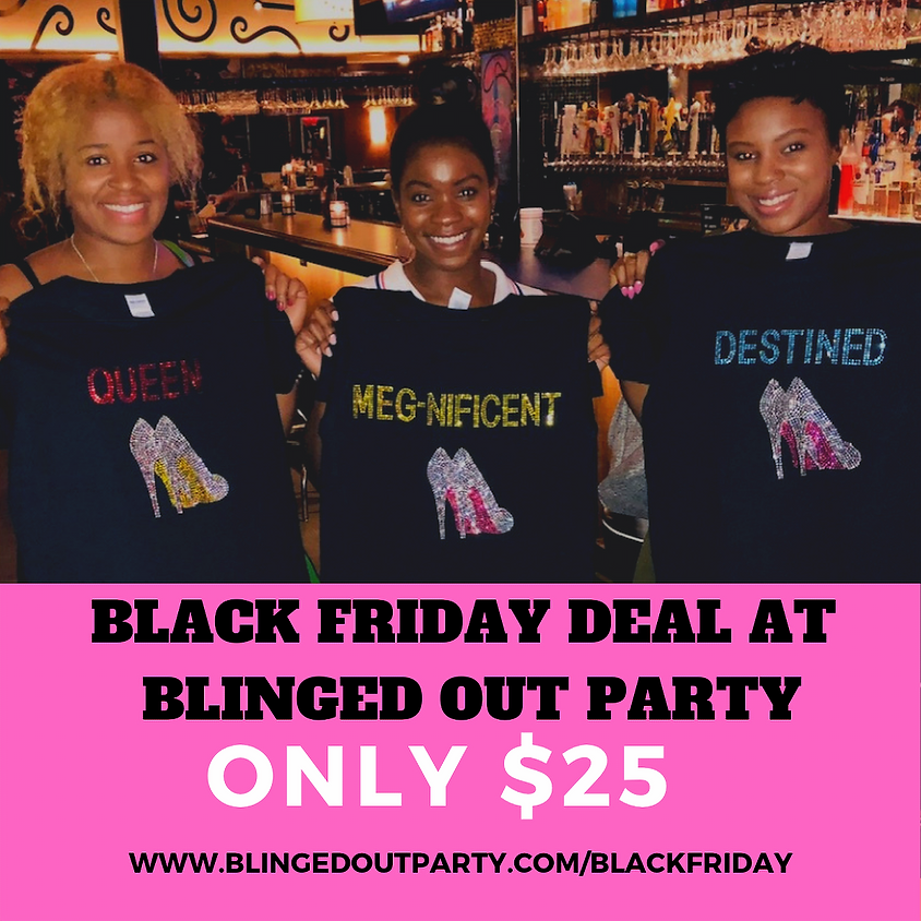 ONLY $25....Pick, Rep & Pay Black Friday Deal