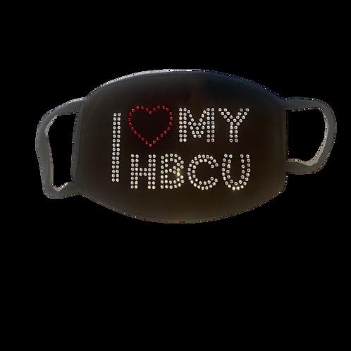 I Love MyHBCU Bling Mask Kit