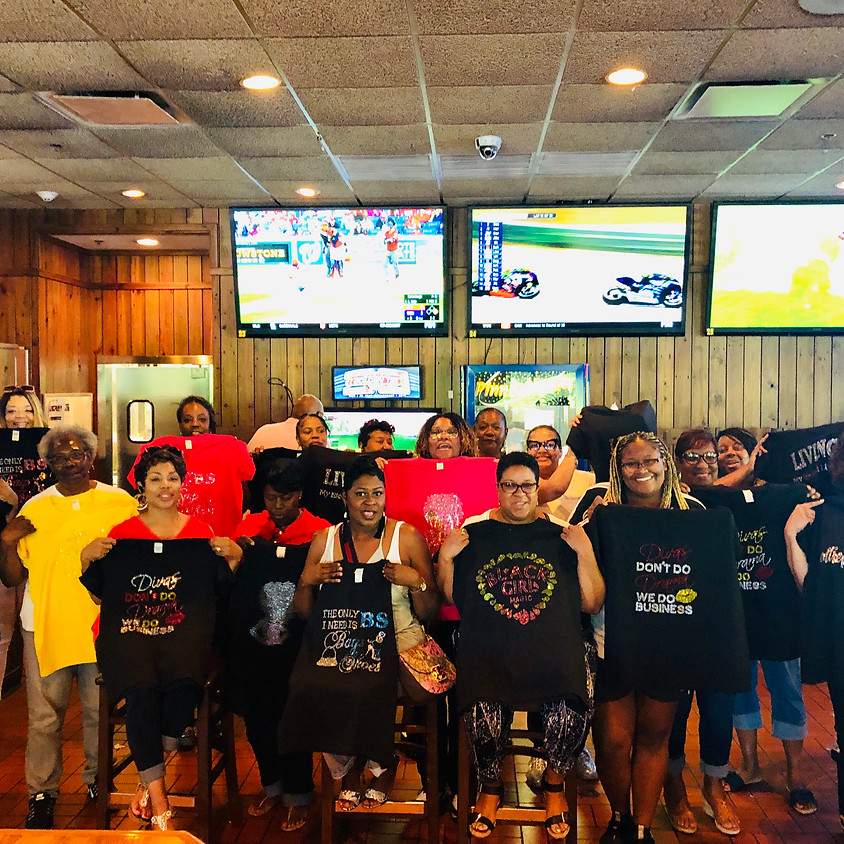 8/21/19 Bowie Blinged Out Party @ Smokey Bones