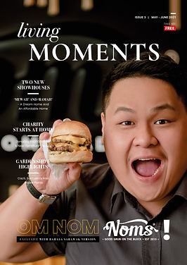 Living Moments Issue 3-Cover
