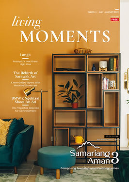 Living Moments Issue 4 Cover