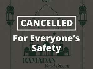 Ramadan Bazaar at La Promenade Cancelled