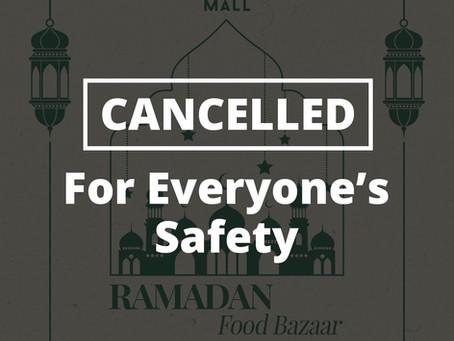 Ramadan Bazaar at La Promenade Cancelled