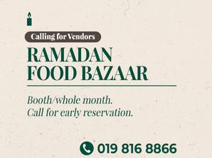 Bazar Ramadan dengan SOP di La Promenade