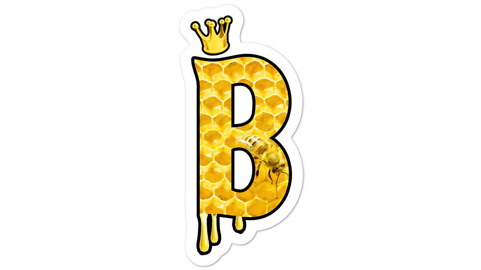 Honey B sticker