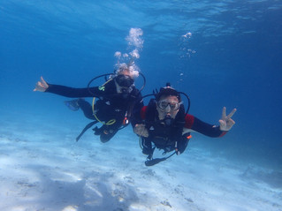 Getting hooked on Scuba!