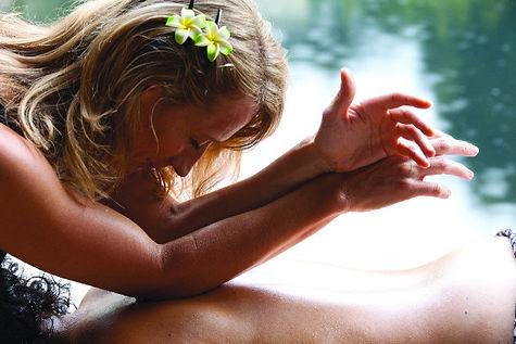 Me massaging Aloha .jpg