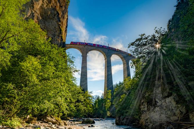 Landwasser Viadukt Filisur