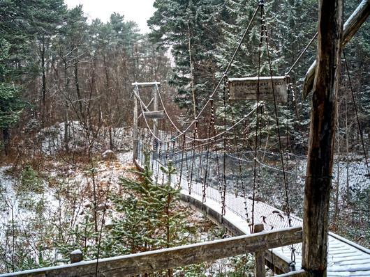 Winter auf der Luziensteig