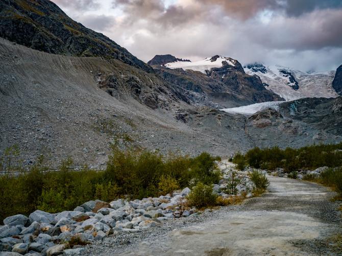 Morteratschgletscher / Gletschertor