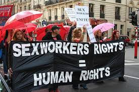 International Day to End Violence Against Sex Workers 2018 protest in Philadelphia. Photo: The Red Umbrella Alliance