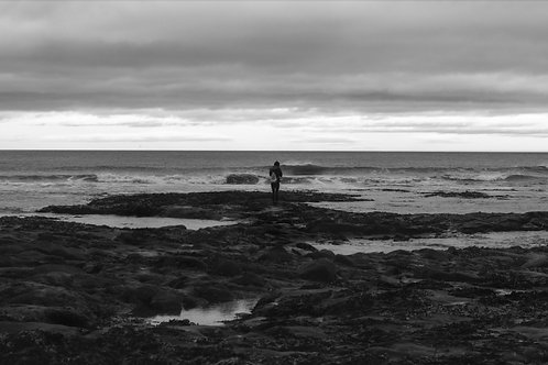 Amble Northumberland - Black & White