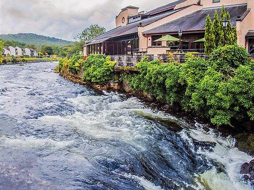 Lake District - White Water Hotel, River Bank