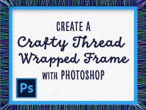Create a Crafty One-of-a-Kind Frame with Photoshop