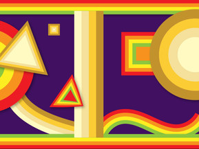 Rainbow Ribbons and Strokes in Adobe Illustrator