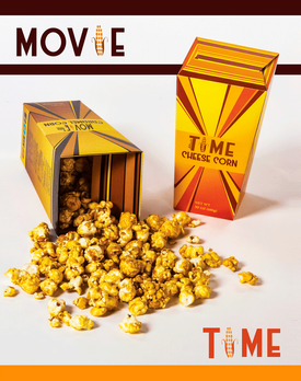 Movie Time Popcorn Packaging