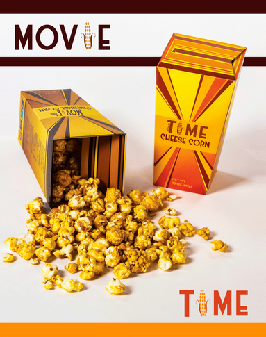 Movie Time Popcorn Packaging