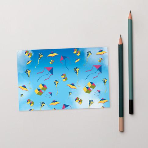 Kite Post card