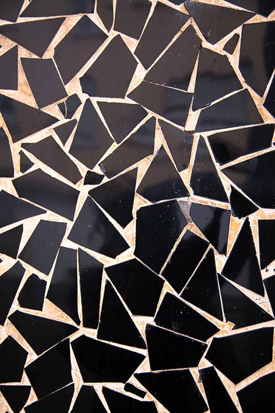 Black Tile Mosaic