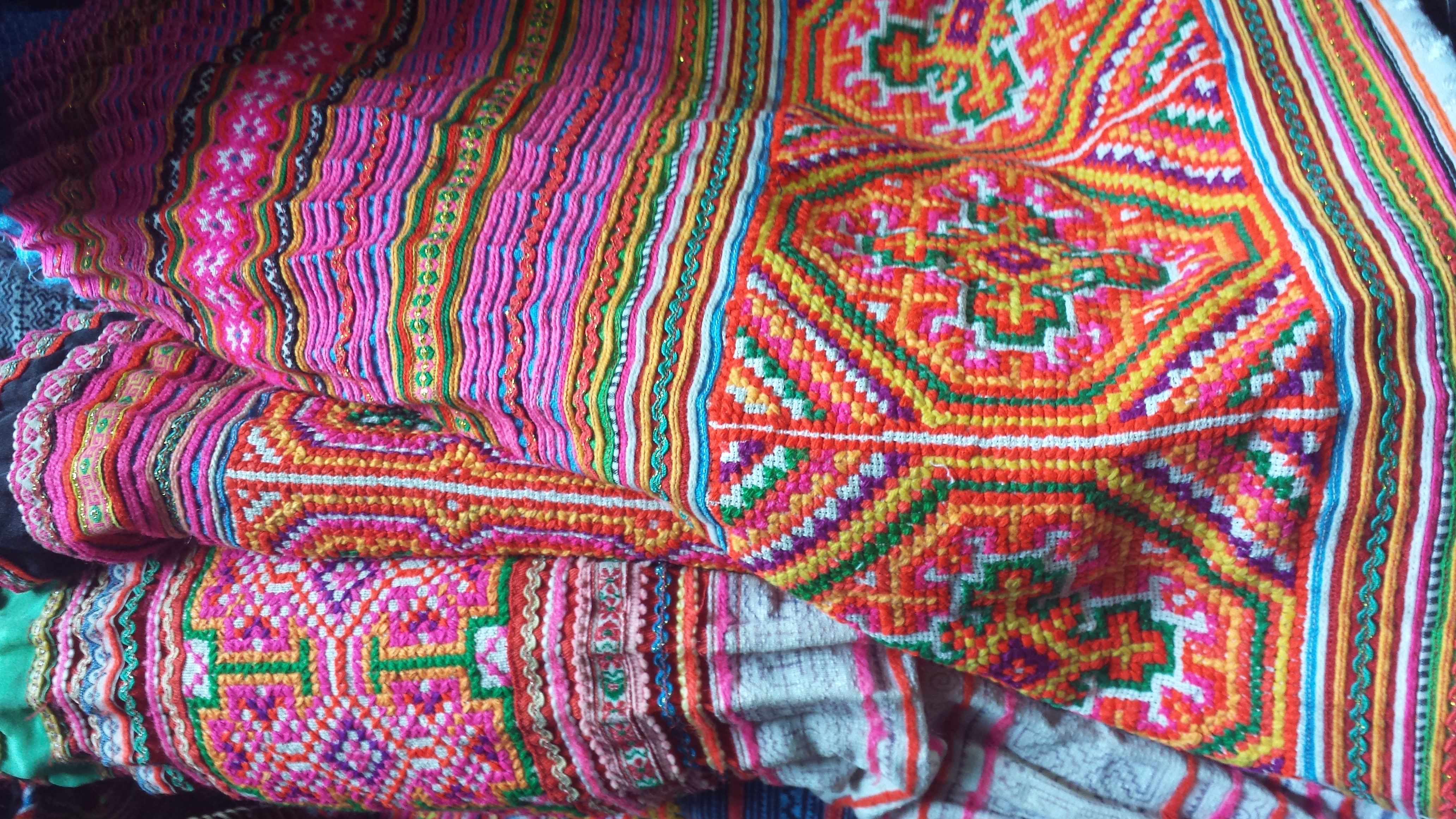 HMONG HILL TRIBE TEXTILES
