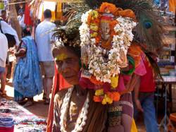 GOA BAZAAR, INDIA
