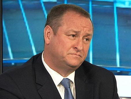 Mike Ashley won't invest........In anything!!