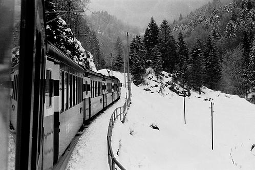 40cm x 60cm Snow Train