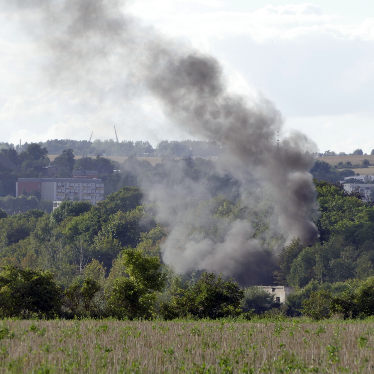 Brand von Unrat
