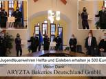 ARYZTA Bakeries Deutschland GmbH überreicht Spende an Kinder- und Jugendfeuerwehr