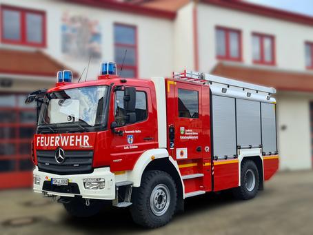 BUND stationiert ein Spezialfahrzeug für den Zivil- und Katastrophenschutz in der Feuerwehr Helfta