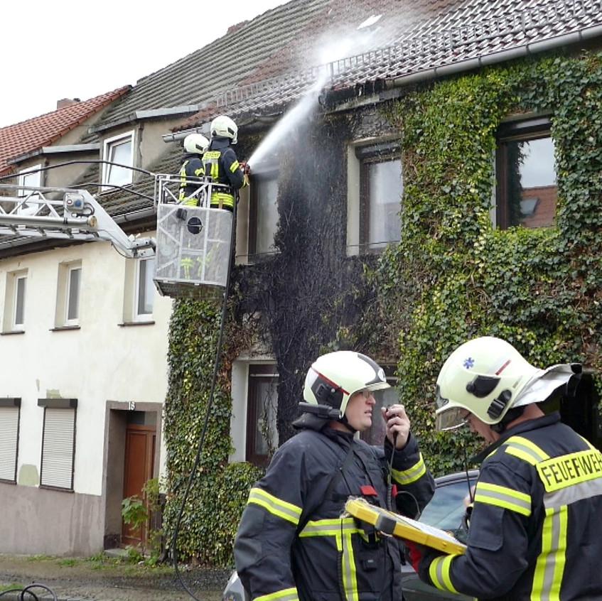 Fassadenbrand