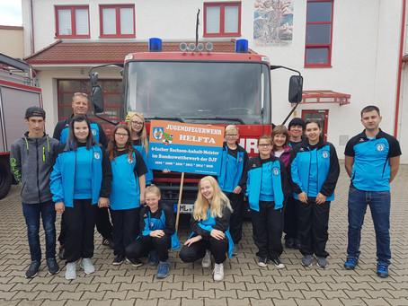 Jugendfeuerwehr reist zur Deutschen Meisterschaft