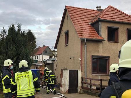 Einsatz 145/2020 - Wohnhausbrand