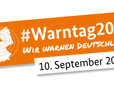1. Bundesweiter Warntag am 10. September 2020
