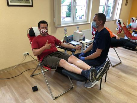 Blutspende-Aktion ein voller Erfolg