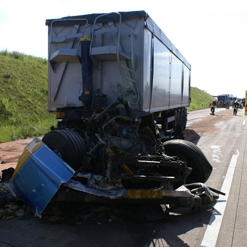 Verkehrsunfall A 38