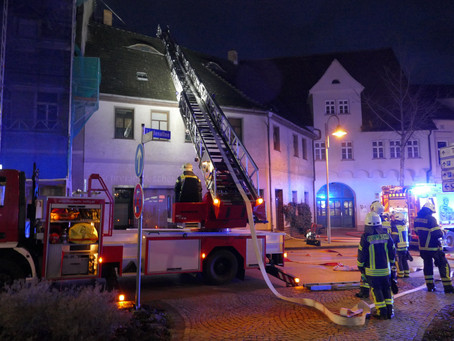 Einsatz 166/2019 - Gebäudebrand