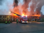 Großbrand in Helbra