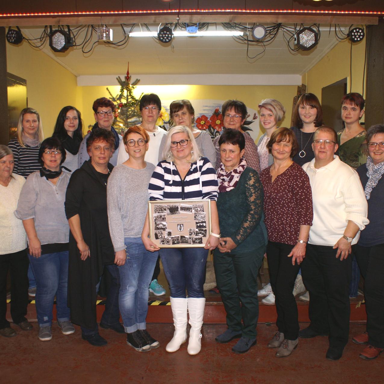 50 Jahre Frauen in der FF Helfta