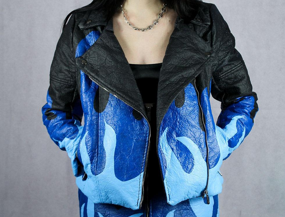 Hot Mess Blue Jacket