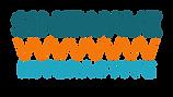 teal orange blue rectangular  Sinewave Interactive logo clear background.png